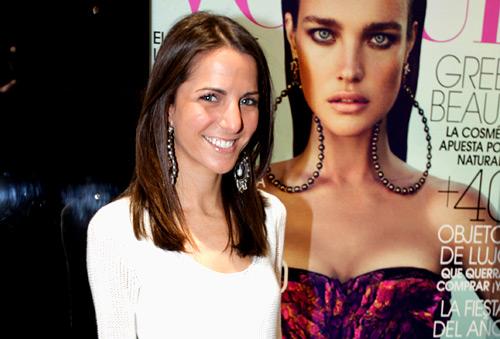 Kelly Talamas, recientemente convertida en Directora de Vogue México y Latinoamérica