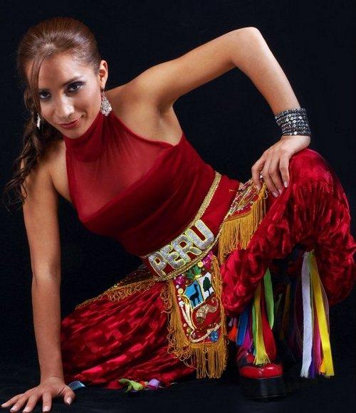 Dámaris, cantautora peruana de folcklore y fusión