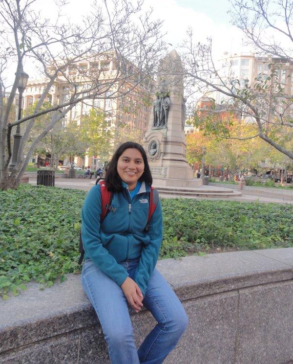 Andrea Villanes decidió ir a Carolina del Norte a estudiar