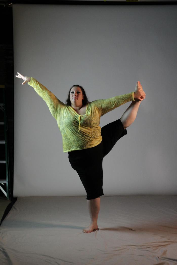 Ragen Chastain. bailarina